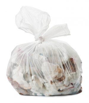 "Clear refuse sacks HEAVY DUTY 18x29x39"" x 200. 13kg"