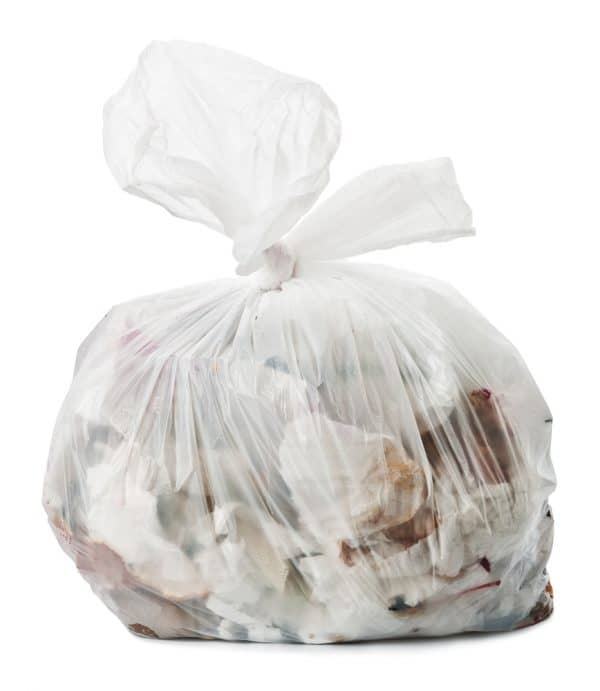 "Clear refuse sacks HEAVY DUTY 18x29x39"" x 200. 13kg"