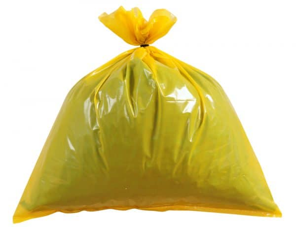 yellow heavy duty bin