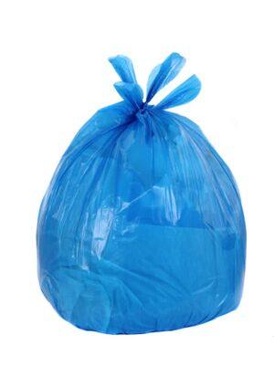 """Blue bin liners Heavy duty 18X29X39"""" x 200. 15kg"""